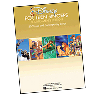 Various Arrangers : Disney for Teen Singers - Young Men's Edition : Solo : Songbook : 888680045227 : 1495010007 : 00141566