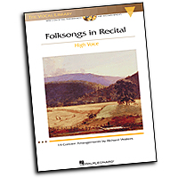 Richard Walters : Folksongs in Recital - 14 Concert Arrangements - High Voice : Solo : 01 Songbook :  : 884088113315 : 1423421345 : 00000473
