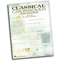 Various Arrangers : Classical Crossover for Singers : Solo : 01 Songbook : 884088898540 : 1480338362 : 00118365