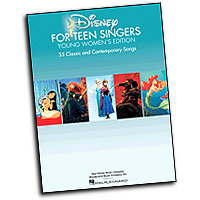 Various Arrangers : Disney for Teen Singers - Young Women's Edition : Solo : 01 Songbook : 888680045173 : 1495009971 : 00141560