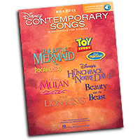 Various Arrangers : Disney Contemporary Songs - High Voice : Solo : Songbook & Online Audio : 884088078225 : 1423412788 : 00000447