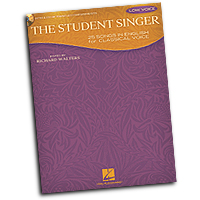 Various Arrangers : The Student Singer - Low Voice : Solo : 01 Songbook & 1 CD : 884088590703 : 1458411257 : 00230105