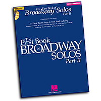 Joan Frey Boytim : The First Book of Broadway Solos - Part II - Mezzo-Soprano : Solo : 01 Songbook : 884088150938 : 1423427114 : 00001112