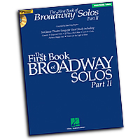 Joan Frey Boytim : The First Book of Broadway Solos - Part II - Baritone/Bass : Solo : 01 Songbook : 884088150976 : 1423427130 : 00001114