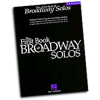 Joan Frey Boytim : The First Book of Broadway Solos - Soprano : Solo : 01 Songbook :  : 073999268713 : 0793582830 : 00740081