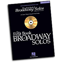 Joan Frey Boytim : The First Book of Broadway Solos - Soprano : Accompaniment CD :  : 073999790399 : 0634094939 : 00740323