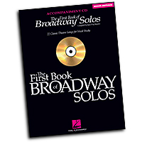 Joan Frey Boytim : The First Book of Broadway Solos - Mezzo-Soprano : Solo : Accompaniment CD :  : 073999253054 : 0634094947 : 00740324