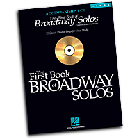 Joan Frey Boytim : The First Book of Broadway Solos - Tenor : Accompaniment CD :  : 073999258691 : 0634094955 : 00740325