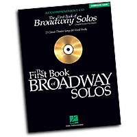 Joan Frey Boytim : The First Book of Broadway Solos - Baritone/Bass : Solo : Accompaniment CD :  : 073999360462 : 0634094963 : 00740326