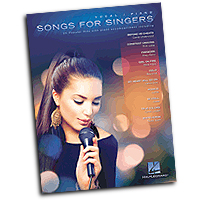 Various Arrangers : Songs for Singers : Solo : 01 Songbook : 884088991906 : 1480383112 : 00125528