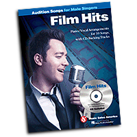 Various Arrangers : Film Hits - Audition Songs for Male Singers : Solo : 01 Songbook & 1 CD : 884088524654 : 1423498046 : 14037737