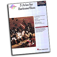 Various : 3 Arias for Baritone/Bass : Solo : 01 Songbook & 1 CD : 073999589955 : 0793568935 : 00740061