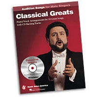 Classical Greats : Audition Songs for Male Singers : Solo : Songbook & CD :  : 884088469405 : 1423489527 : 14037456