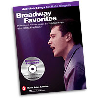 Broadway Favorites : Audition Songs for Male Singers : Solo : Songbook & CD : 884088469368 : 1423489489 : 14033430