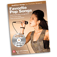 Favorite Pop Songs : Audition Songs for Female Singers : Solo : Songbook & CD :  : 884088469313 : 1423489446 : 14028738