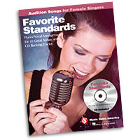 Favorite Standards : Audition Songs for Female Singers : Solo : Songbook & CD : 884088469337 : 1423489454 : 14031133