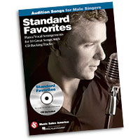 Standard Favorites : Audition Songs for Male Singers : Solo : Songbook & CD : 884088469382 : 1423489500 : 14037454