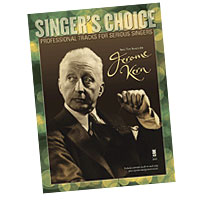 Professional Tracks for Serious Singers : Sing the Songs of Jerome Kern : Solo : Songbook & CD : Jerome Kern : 888680033620 : 1941566057 : 00138901