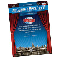 Various : Singer's Library of Musical Theatre - Vol. 1 : Solo : Songbook : 884088687281 : 0739061003 : 00322218