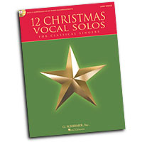 Various Arrangers : 12 Christmas Vocal Solos : Solo : Songbook :  : 884088600310 : 1458413799 : 50490611