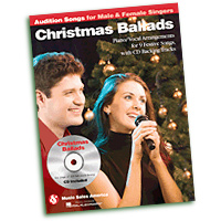 Audition Songs for Male & Female Singers : Christmas Ballads  : Solo : Songbook : 884088509668 : 1423494954 : 14037673