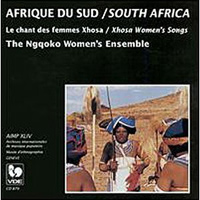 Ngqoko Women's Ensemble : Xhosa Women's Songs : 00  1 CD :  : GAL879.2