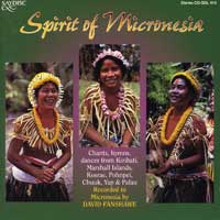 David Fanshawe : Spirit of Micronesia : 00  1 CD : 414