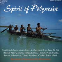 David Fanshawe : Spirit of Polynesia : 00  1 CD : 403